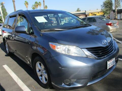 2014 Toyota Sienna for sale at F & A Car Sales Inc in Ontario CA