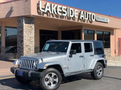 2007 Jeep Wrangler Unlimited for sale at Lakeside Auto Brokers Inc. in Colorado Springs CO