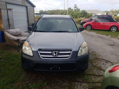 2006 Honda CR-V for sale at Wally's Cars ,LLC. in Morehead City NC