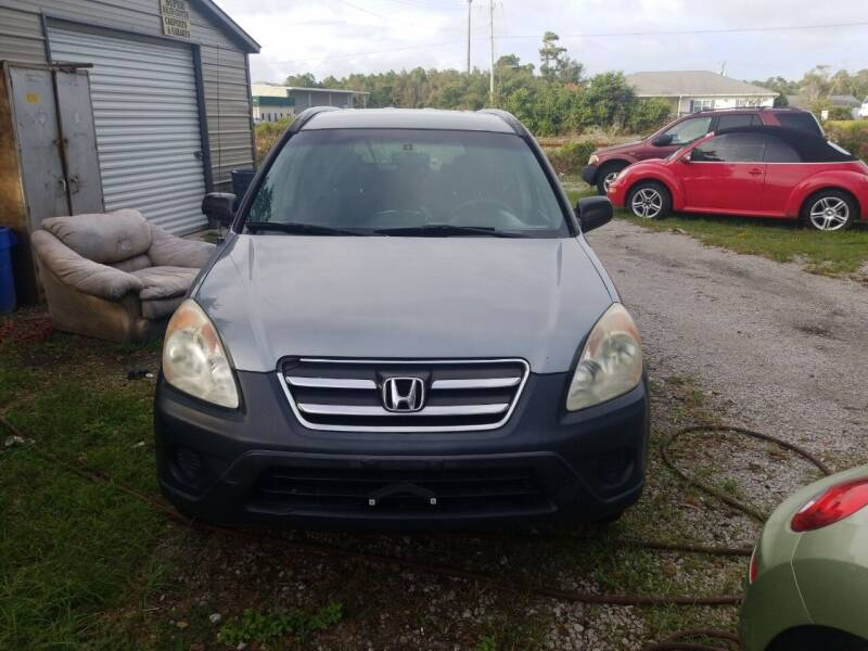 2006 Honda CR-V for sale at Webb's Automotive Inc 11 in Morehead City NC