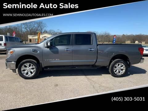 2017 Nissan Titan XD for sale at Seminole Auto Sales in Seminole OK