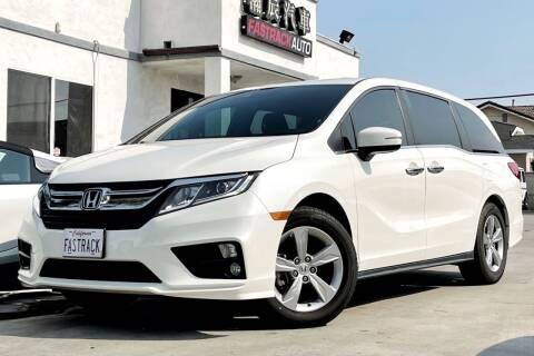 2018 Honda Odyssey for sale at Fastrack Auto Inc in Rosemead CA