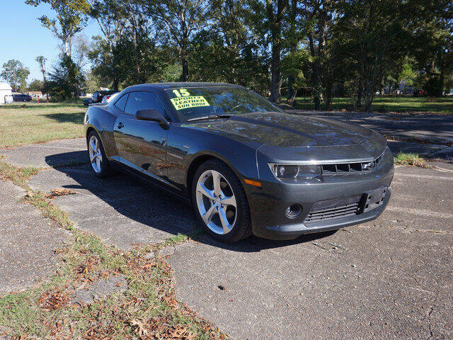 2015 Chevrolet Camaro for sale at BLUE RIBBON MOTORS in Baton Rouge LA