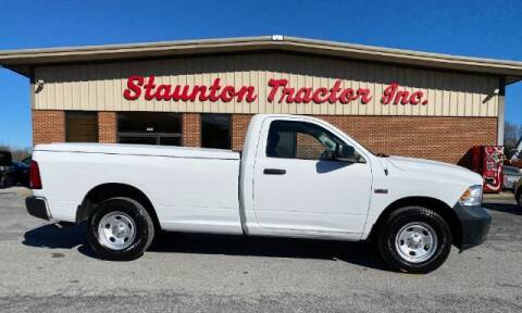2015 RAM Ram Pickup 1500 for sale at STAUNTON TRACTOR INC in Staunton VA