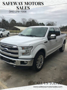 2015 Ford F-150 for sale at Safeway Motors Sales in Laurinburg NC