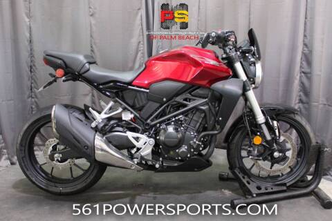 2019 Honda CB300R ABS for sale at Powersports of Palm Beach in Hollywood FL