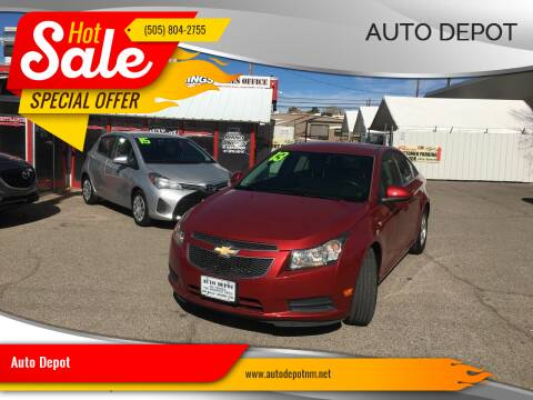2013 Chevrolet Cruze for sale at Auto Depot in Albuquerque NM