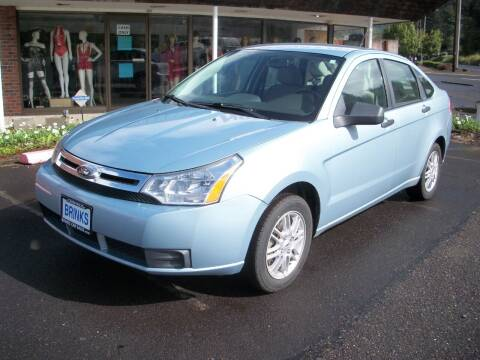 2009 Ford Focus for sale at Brinks Car Sales in Chehalis WA