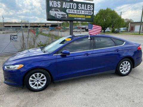 2015 Ford Fusion for sale at KBS Auto Sales in Cincinnati OH