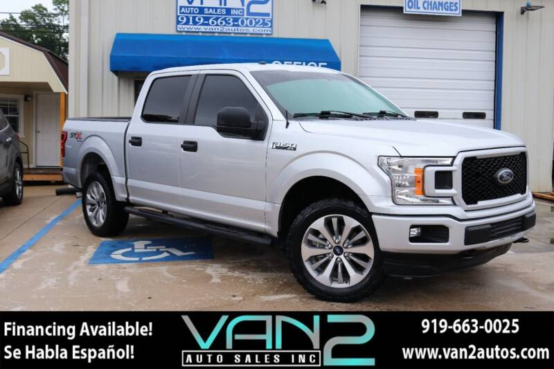 2018 Ford F-150 for sale at Van 2 Auto Sales Inc in Siler City NC