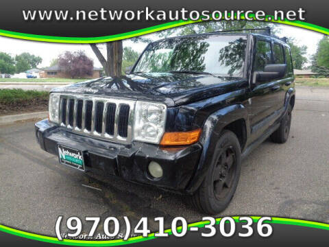 2007 Jeep Commander for sale at Network Auto Source in Loveland CO