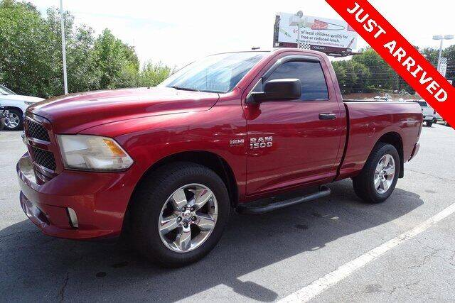 2013 RAM Ram Pickup 1500 for sale at Brandon Reeves Auto World in Monroe NC