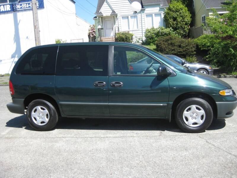 1999 Dodge Caravan for sale at UNIVERSITY MOTORSPORTS in Seattle WA