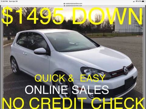 2010 Volkswagen GTI for sale at Cooks Motors in Westampton NJ