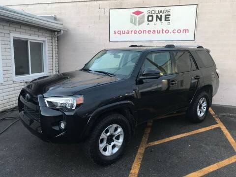 2016 Toyota 4Runner for sale at SQUARE ONE AUTO LLC in Murray UT