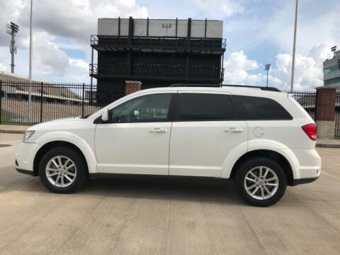 2016 Dodge Journey for sale at ALL AMERICAN FINANCE AND AUTO in Houston TX