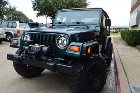 1999 Jeep Wrangler for sale at E-Auto Groups in Dallas TX