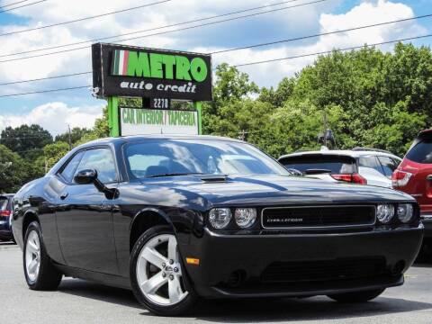 2012 Dodge Challenger for sale at Metro Auto Credit in Smyrna GA