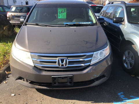 2011 Honda Odyssey for sale at Whiting Motors in Plainville CT