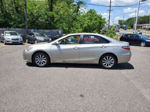 2016 Toyota Camry for sale at CANDOR INC in Toms River NJ