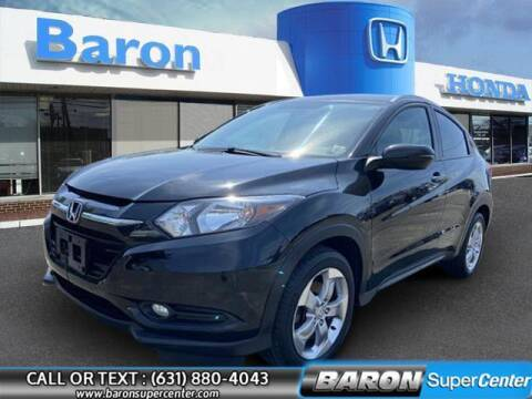 2017 Honda HR-V for sale at Baron Super Center in Patchogue NY