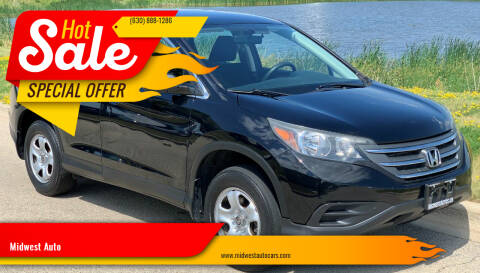 2012 Honda CR-V for sale at Midwest Auto in Naperville IL