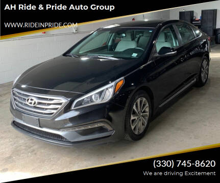 2015 Hyundai Sonata for sale at AH Ride & Pride Auto Group in Akron OH
