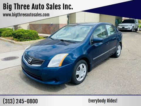 2010 Nissan Sentra for sale at Big Three Auto Sales Inc. in Detroit MI