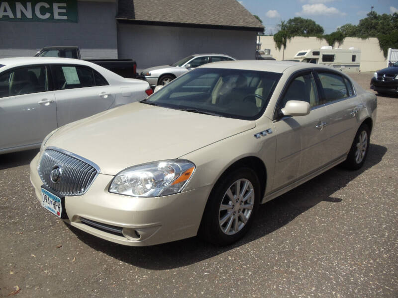 2010 Buick Lucerne for sale at Metro Motor Sales in Minneapolis MN