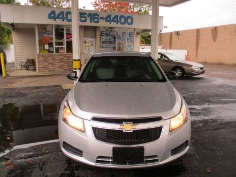 2011 Chevrolet Cruze for sale at Elite Auto Sales in Willowick OH