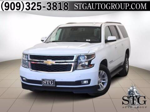 2018 Chevrolet Suburban for sale at STG Auto Group in Montclair CA