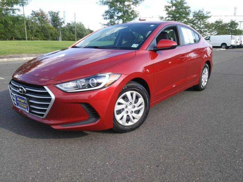 2017 Hyundai Elantra for sale at Nerger's Auto Express in Bound Brook NJ