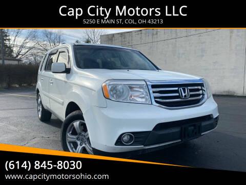 2012 Honda Pilot for sale at Cap City Motors LLC in Columbus OH