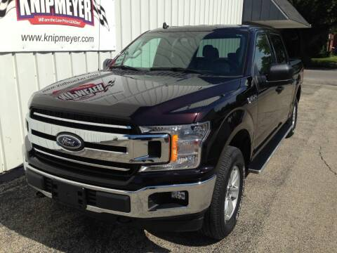 2019 Ford F-150 for sale at Team Knipmeyer in Beardstown IL