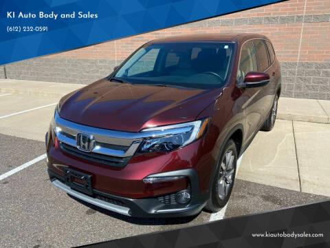 2019 Honda Pilot for sale at KI Auto Body and Sales in Lino Lakes MN