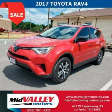 2017 Toyota RAV4 for sale at Mid Valley Motors in La Feria TX