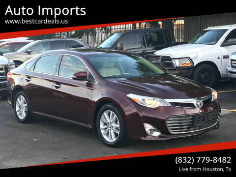 2015 Toyota Avalon for sale at Auto Imports in Houston TX