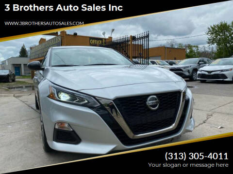 2019 Nissan Altima for sale at 3 Brothers Auto Sales Inc in Detroit MI
