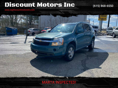 2008 Chevrolet Equinox for sale at Discount Motors Inc in Madison TN