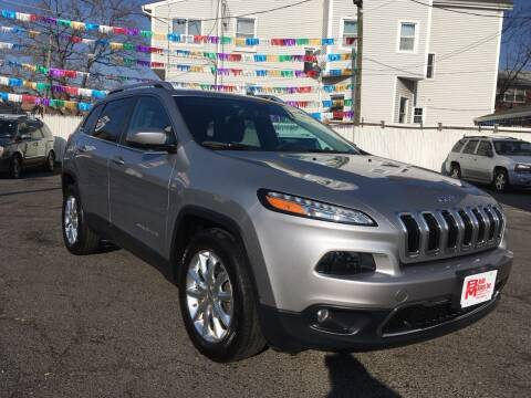 2015 Jeep Cherokee for sale at B & M Auto Sales INC in Elizabeth NJ