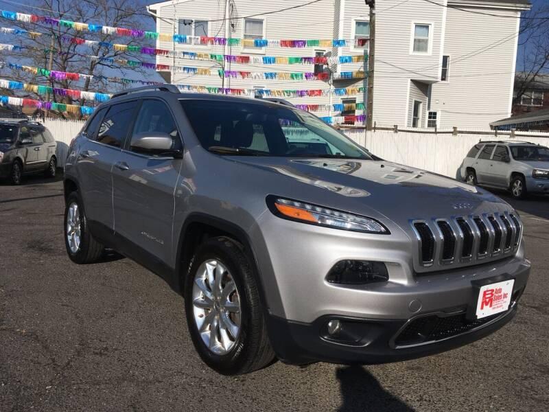 2015 Jeep Cherokee for sale at B & M Auto Sales INC in Elizabeth NJ