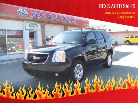 2008 GMC Yukon for sale at Rex's Auto Sales in Junction City KS