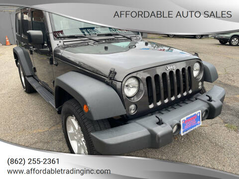 2017 Jeep Wrangler Unlimited for sale at Affordable Auto Sales in Irvington NJ