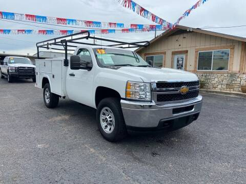 2013 Chevrolet Silverado 3500HD CC for sale at The Trading Post in San Marcos TX