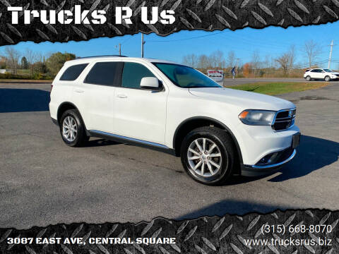 2017 Dodge Durango for sale at Trucks R Us in Central Square NY