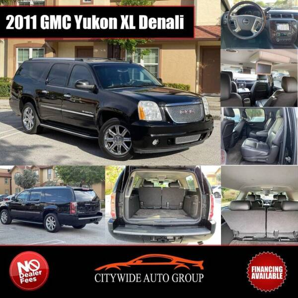 2011 GMC Yukon XL for sale at Citywide Auto Group LLC in Pompano Beach FL