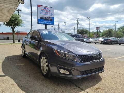 2015 Kia Optima for sale at Magic Auto Sales in Dallas TX