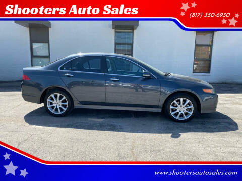 2006 Acura TSX for sale at Shooters Auto Sales in Fort Worth TX