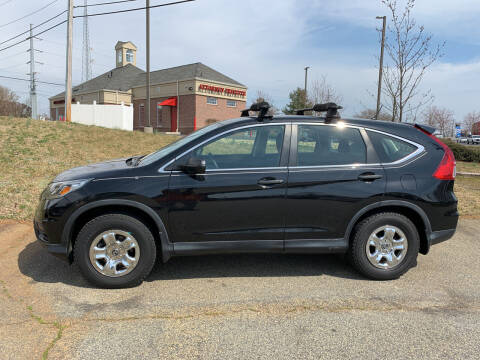 2015 Honda CR-V for sale at Bill Henderson Auto Group Inc in Statesville NC