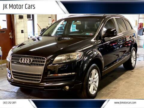 2009 Audi Q7 for sale at JK Motor Cars in Pittsburgh PA